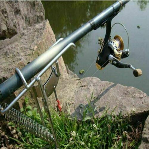 Canne à pêche Support automatique Tip-Up Crochet Setter POISSONS POLE Tackle Support