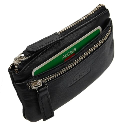 Branco Schlüsseltasche Leder Schlüsseletui Schlüsselmappe Auto Etui Tasche 31018
