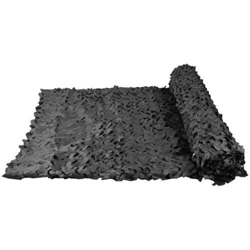 Tarnnetz Sichtschutz Sonnenschutz Verschiedene Hitzeschutz Sichtschutz Schwarz