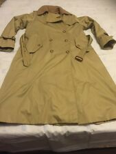 VTG women's burberry trench coat made in poland size 14