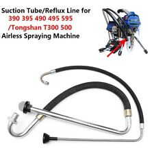 Stainless Steel Suction Tube 390 395 490 Gra Co Airless Paint Sprayers Parts Ne