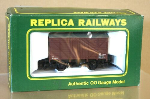 REPLICA 13602 BR BROWN 12 ton FRUIT VAN VENT WAGON W134281 MINT BOXED nj