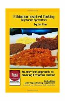 Ethiopian-inspired Cooking Vegetarian Specialties Black & White... Free Shipping