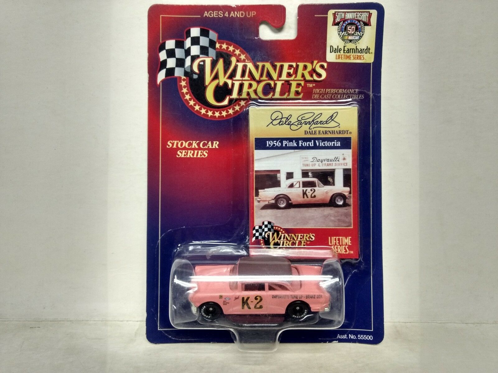 Nascar Winners Circle K-2 Dale Earnhardt Pink Ford 1 64 Scale Diecast       mb66