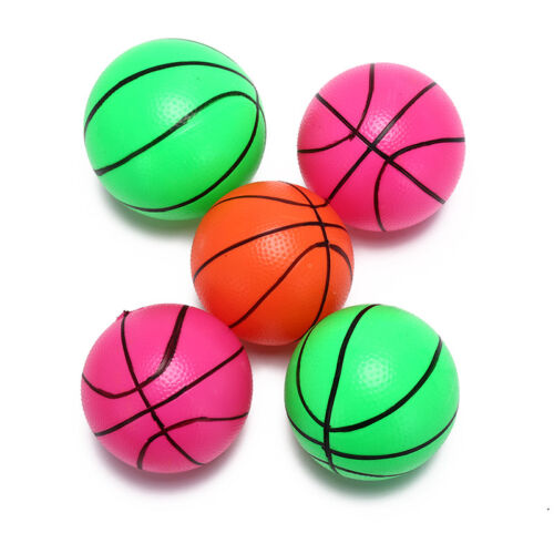 12Cm Inflatable Basketball Volleyball Beach Ball Kids Sports Toy Random Color HC