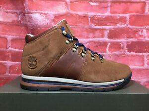 Details about TIMBERLAND MEN'S GT RALLY WATERPROOF BOOTS BROWN SUEDE A1QH9 SIZE 8