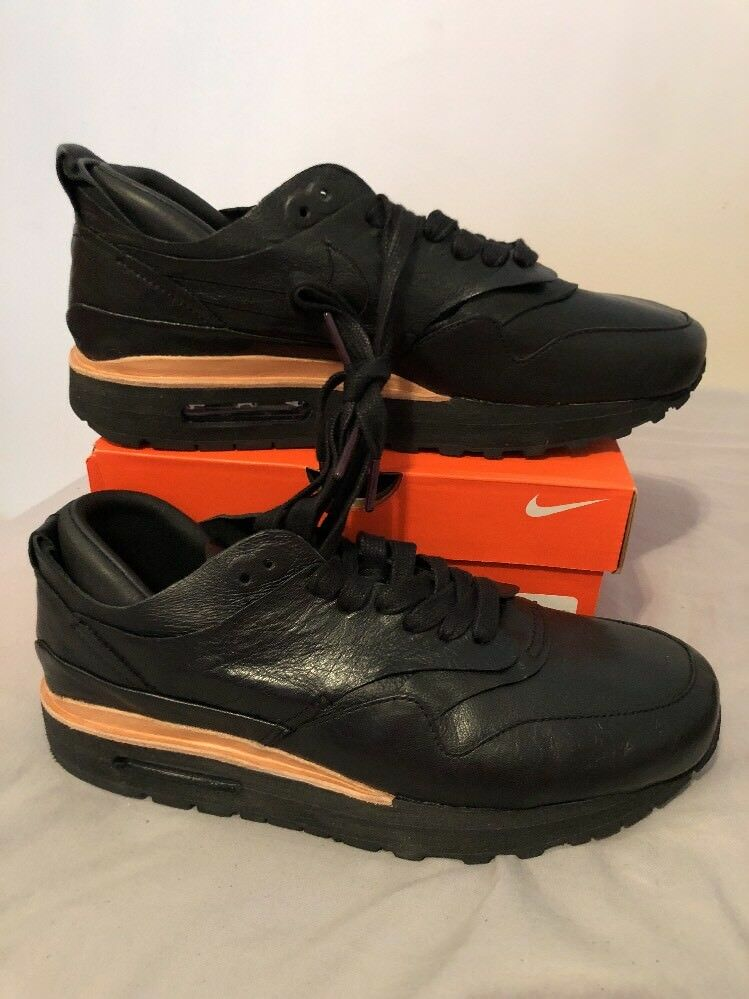 Nike Lab Samples Black Leather Sz 9 847671 002 Extremely Rare