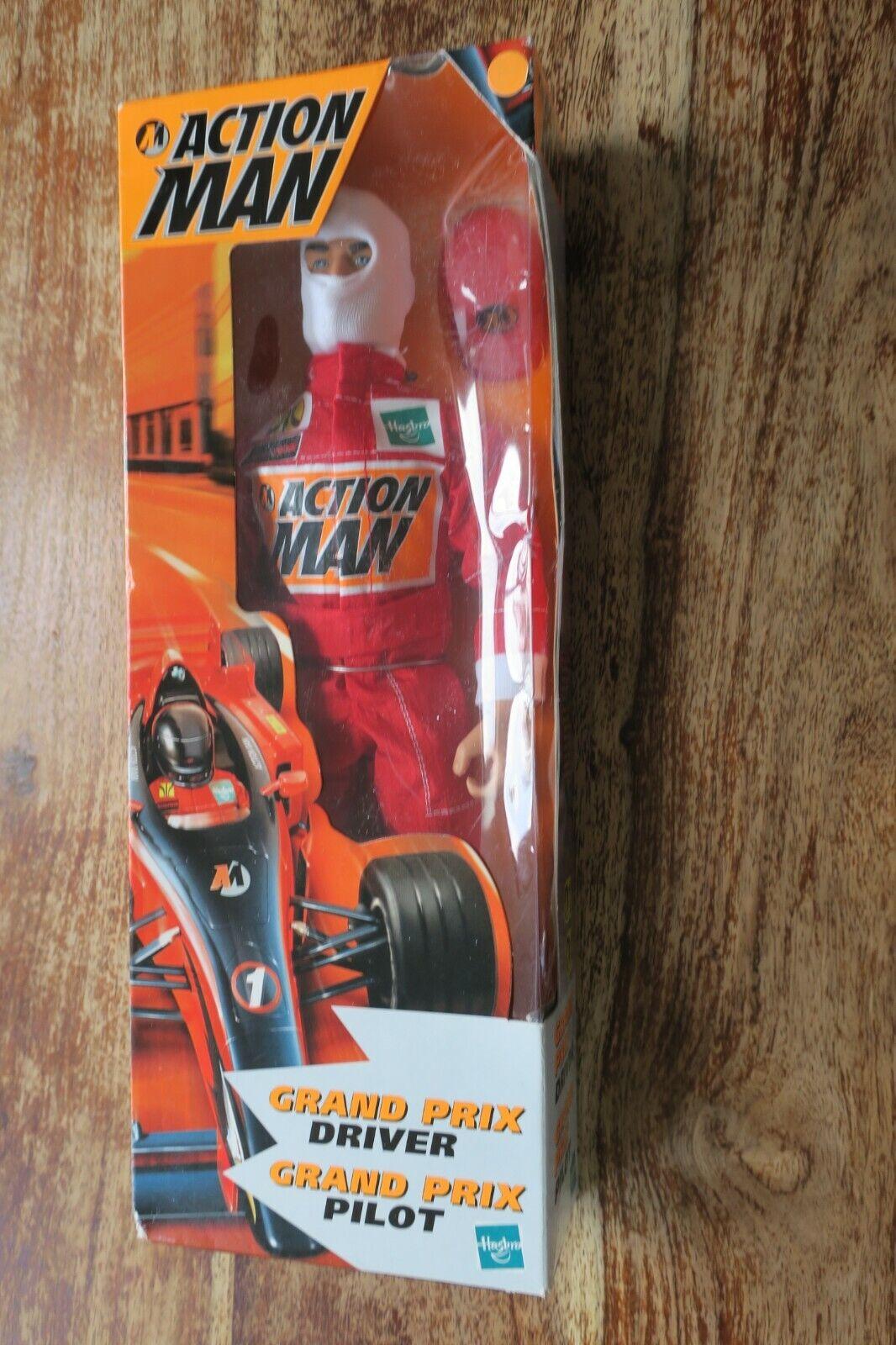 Figura Action Man - Gran Precio Driver   Pilot Hasbro Nuevo