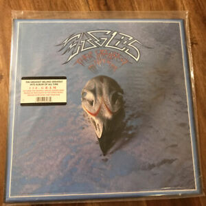 Eagles-Their-Greatest-Hits-1971-1975-180-Gram-LP-Reissue-Asylum-7E-1052-Sealed