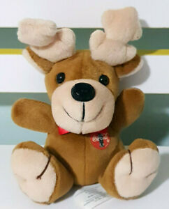 Coca-Cola-Reindeer-Plush-Toy-Beans-in-Bum-16cm-Tall