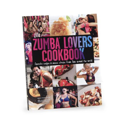 Zumba Lovers Cookbook - Healthy, Delicious Recipes!  160 Pages, MSRP $19.99! 3