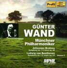 """Johannes Brahms: Symphony No. 1; Ludwig van Beethoven: Symphony No. 1 (CD, Aug-2007, Profil - Edition Gnter H""""nssler)"""