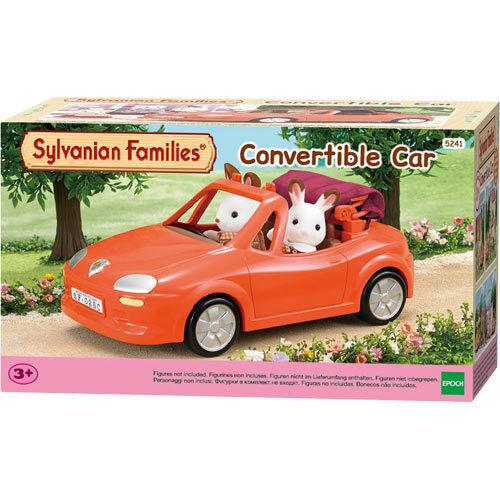 2 posti Sylvanian FAMILIES 5241 Auto Convertibile-auto sportiva rossa