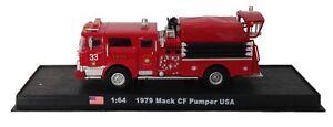Mack-CF-Pumper-USA-Fire-Truck-Diecast-1-64-model-Amercom-GB-20