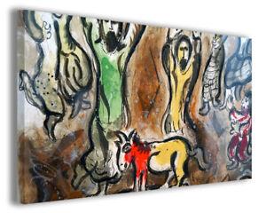 Quadri famosi moderni Marc Chagall vol XIII stampa su tela canvas ...