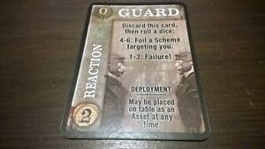Board-Game-Spartacus-Card-INTRIGUE-GUARD-Price-Each-Starz-Gale-Force-Nine