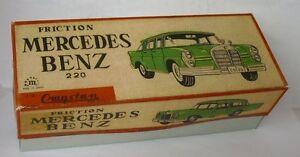 Repro Box Cragstan Mercedes Benz 220 Friction Exquisite Handwerkskunst; Blechspielzeug