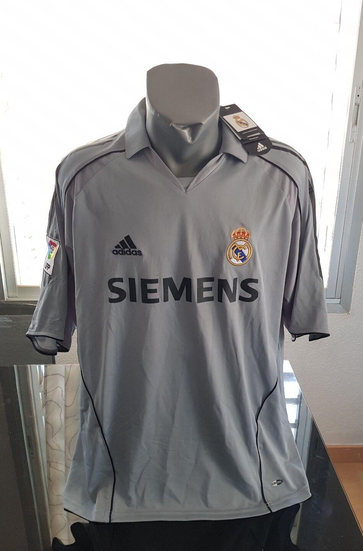 Adidas vintage tee shirt real madrid nouveau nouveau lfp Taille xl