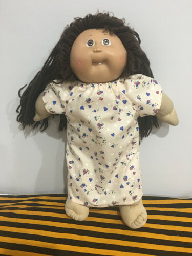 """Doll Clothes Night Gown Floral Dress Fits 16/"""" 18/"""" Cabbage Patch Kids"""