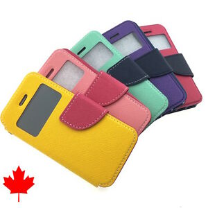 FOR-iPhone-5C-High-Quality-Leather-Flip-Wallet-Case-with-Window-5-034-from-Canada