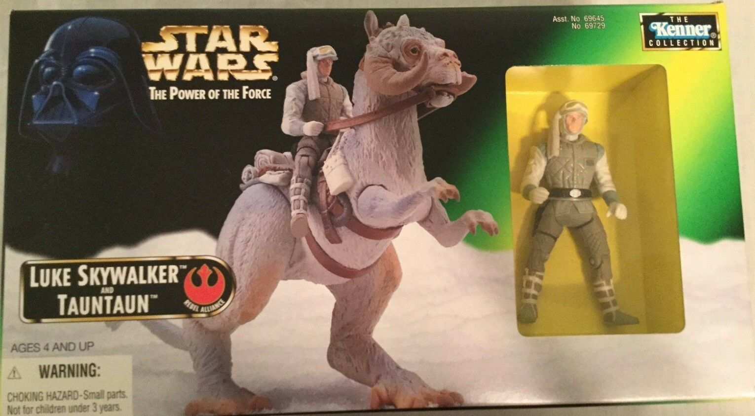 STAR WARS POTF SET OF 3 TRILOGY SERIES ACTIONS FIGURES WITH CREATURES.