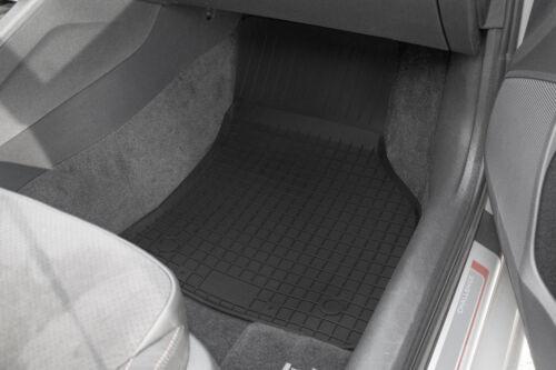 Gummimatten Fußmatten mit Hoher Rand Seat Ibiza III Skoda Fabia I VW Polo IV Neu