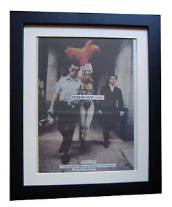 INXS-Heaven-Sent-POSTER-AD-ORIGINAL-1992-TOP-QUALITY-FRAMED-EXPRESS-GLOBAL-SHIP
