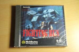 Fighting-Run-NEC-PC-Engine-Hucard-import-JAP-neuf-new-neu