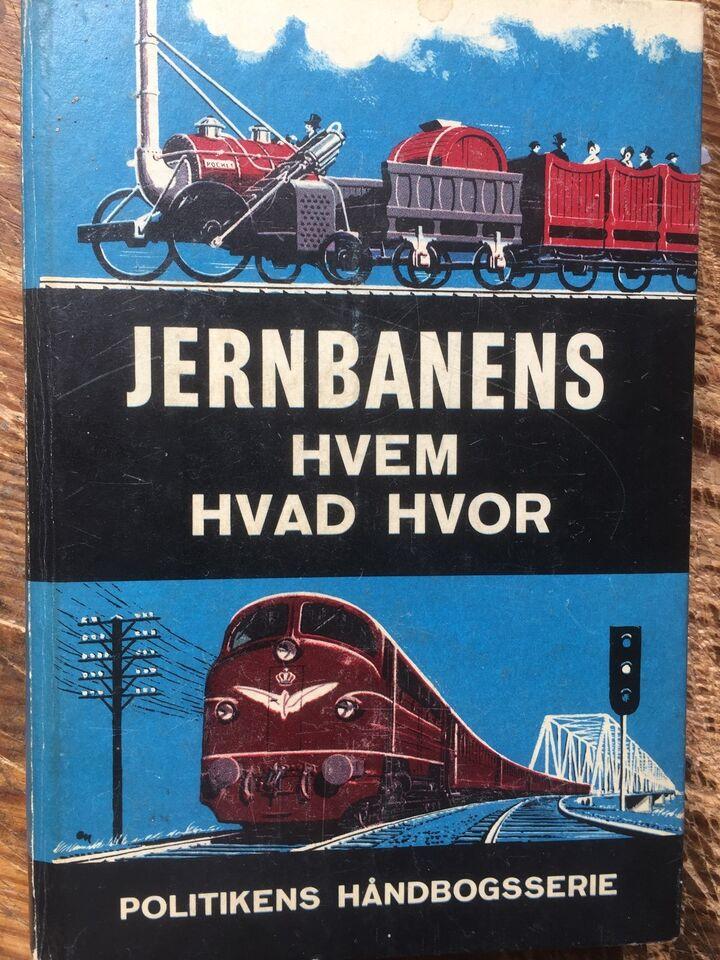 JERNBANENS HVEM HVAD HVOR - 1959 - 319 s. , J. Maimann &
