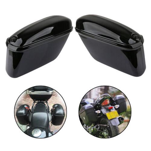 2x Motorrad Seitenkoffer Motorradkoffer Satteltasche Box Werkzeugtasche Koffer