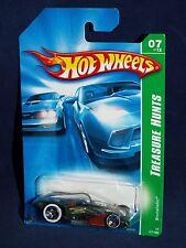 Hot Wheels 2007 Regular Treasure Hunt #7 Brutalistic Olive Green w/ WL5SPs