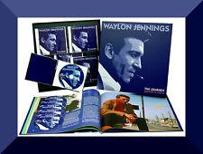 Waylon Jennings , The Journey , Destiny's Child ( Box 6 CD + Booklet )