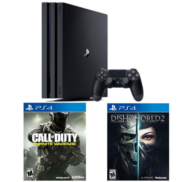 PS4 Pro 1TB console + Call of Duty: Infinite Warfare + Dishonored 2
