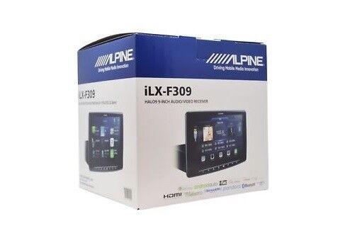 "NEW Alpine Halo9 9"" Mech-Less Audio Video Receiver Car Radio / Stereo - ILX-F309"