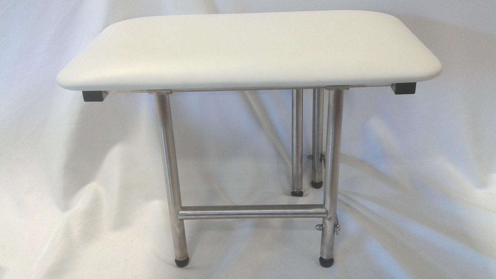 Praxis Bathtub Shower Bench Seat With 4 Legs 24\