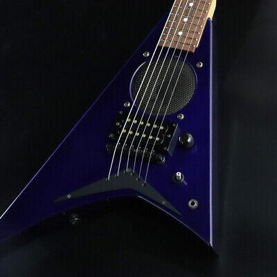 jackson rrv mini guitar metallic blue japan rare beautiful popular ems f s ebay. Black Bedroom Furniture Sets. Home Design Ideas