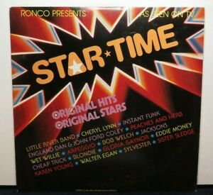 RONCO-STAR-TIME-CHEAP-TRICK-BLONDIE-EDDIE-MONEY-VG-P-15143-LP-VINYL-RECORD