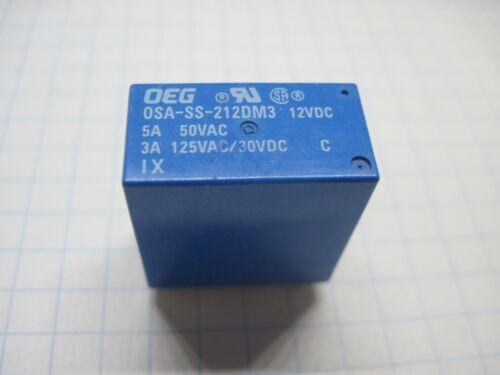 24VDC See list Tested OEG Relay OSA-SS,SDT-S 212,224 12VDC OST-S,GSA 112
