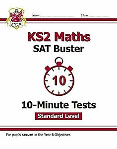 KS2 Maths Targeted SAT Buster 10-Minute Tests - Standard (for tests in 2018 and