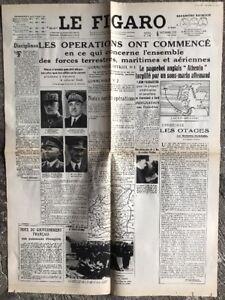 N111-La-Une-Du-Journal-Le-Figaro-5-Septembre-1939