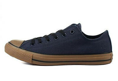 CONVERSE ALL STAR CHUCK TAYLOR OX NAVY GUM 148561C  CLASSIC CANVAS  MEN