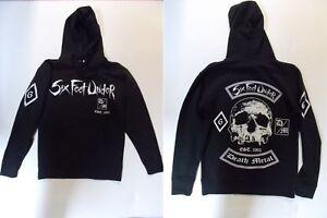 Six-Feet-Under-Death-Metal-Hooded-Sweater-L-123429