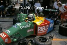 Alessandro Nannini Benetton B189 German Grand Prix 1989 Photograph 2
