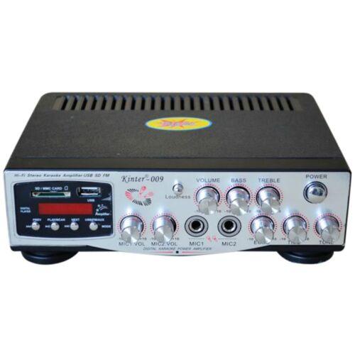 Amplificador Para Arcas Pasivos Impermeable KINTER 009 Lido Piscina Hotel Disco