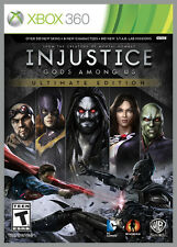 Injustice: Gods Among Us Ultimate Edition Microsoft Xbox 360 new sealed