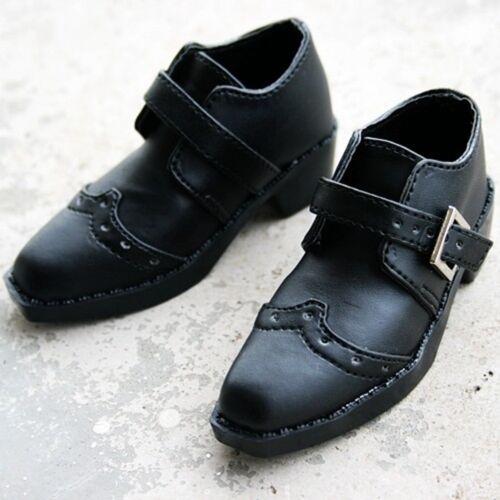 13# Black SD17 DZ70 AOD LUTS 70cm BJD Dollfie PU Leather Shoes ~9cm