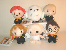 HARRY POTTER PLUSH LOT OF 6, HARRY POTTER,HERMIONE,RON,MALFOY,DOBBY,OWL, T-ARTS