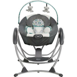 Image Is Loading Graco Glider LX Gliding Baby Swing Affinia