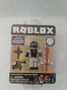 Halloween Codes For Assassin Roblox 2018 Roblox Gold Collection Ninja Assassin Yang Clan Master Figure Exclusive Code 681326198963 Ebay
