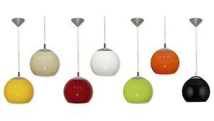 PENDANT-LIGHT-BALL-CEILING-LAMP-7-COLOUR-KITCHEN-DINING-25-30CM-MODERN-FITTING